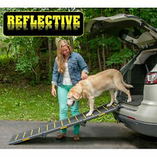 New Pet Gear Tri-Fold Pet Ramp Reflective Extra Wide 200 lbs  PG9300RF