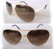 New Steve Madden Unisex Sunglasses S5685 Gold/Brown $40