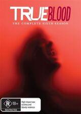 True Blood : Season 6 (DVD, 4-Disc Set) NEW