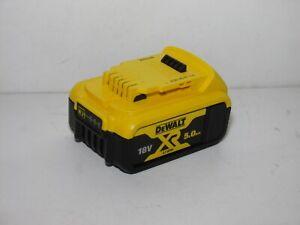 Genuine DeWalt XR DCB184 18V 5.0Ah 90WH Lithium Ion Battery Full Working 2020