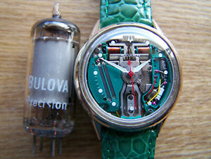Accutron 214 Gold Filled 1965 M5, SPACEVIEW Tuning Fork  rebuilt Great