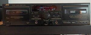 Doppia piastra JVC TD-W318 cassette con pitch control