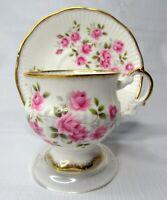 Elizabethan Fine Bone Chine Teacup and Saucer Made in England Demitasse