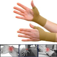 2 Wrist Thumb Support Hand Palm Brace Carpal Tunnel Arthritis Compression Gloves