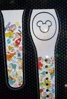 NEW DISNEY 7 DWARFS ALL OVER WHITE Magic Band Magicband Parks Snow White Grumpy