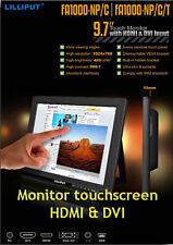 """9.7"""" MONITOR LED  LILLIPUT MODELLO FA1000-NP/C/T TOUCHSCREEN HDMI /DVI /VGA/ AV"""