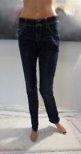 extra jean slim Complices taille basse 40 denim foncé
