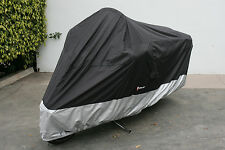 Yamaha Royal Star Tour Deluxe motorcycle cover ss500  in Black. Fits up to 108""