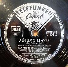 "Ray Anthony - Autumn Leaves - Mr. Anthonys.. - Brunswick /10"" 78 RPM"