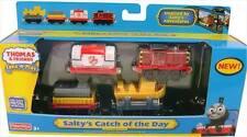 SALTY'S CATCH OF DAY - DIECAST 4 Car Set - Take N Play Thomas Train - NIB - 2010