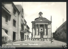 Cartolina - PAVONE CANAVESE ( Torino ) Chiesa - VG 1962 Negozio Alimentari VESPA
