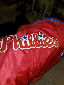 Majestic Authentic Philadelpha Phillies  Dugout Jacket