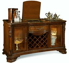 Old World Cherry Cocktail Server SIdeboard Buffet