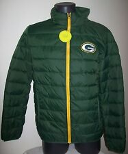 GREEN BAY PACKERS Puffer Pack It Jacket   LG XL 2X GREEN