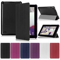 "Ultra Slim Leather Case Stand Cover for 7"" Amazon Kindle Fire HD 7 Tablet Hot FT"