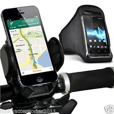 Bicycle Accessory Pack Bike Holder Cradle✔Gym Sports Armband Case Pouch Cover