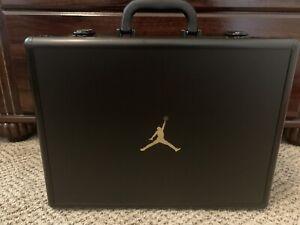 Jordan AJNT23 Black Metallic Gold Size 12 w/ Briefcase Cl5441-008 Brand New!!