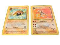 Non-holo Rare Pokemon Card Details about  /Kabutops 24//62 Fossil Set NM