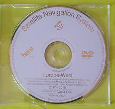 Honda 2018 Sat Nav Map Update DVD Ver 3.C0 West Europe