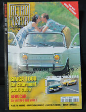 Rétroviseur n°130, 1999, Simca 1000, 162 pages, excellent état