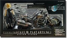 NEW PLAY ARTS FINAL FANTASY VII Cloud & Hardy Daytona figure import from Japan