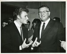 JOHNNY HALLYDAY USA 60s VINTAGE PHOTO ORIGINAL #1
