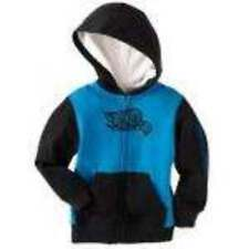 NWT $28-Boys Tony Hawk Blue & Black Sherpa Lined Zip Up Hoodie Jacket-sz 24 mths
