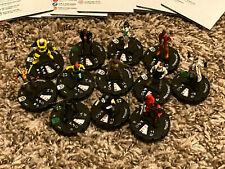 Heroclix 12 piece lot Deadpool & X-Force 043 Marrow, 027 Fantomex, 018 Domino