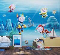 270x360cm Premium Décoration Murale Patte Patrouille Peint Pour Enfants, Murs
