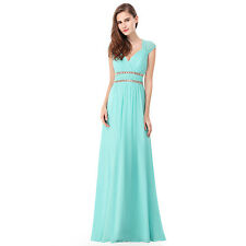 Ever-Pretty Long Beaded Evening Cocktail Formal Party Bridesmaid Dress 08697