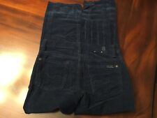 Seven For All Mankind Boys Corduroy Pants Size 7 Blue GUC