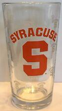 Syracuse University Orange Collegiate Pint Glass 16 oz.
