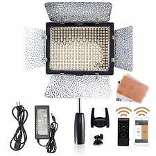 Yongnuo YN-300 III 3200-5500K LED Video Light + AC Adapter Power for Canon Nikon