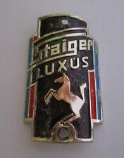 altes STAIGER LUXUS Fahrrad Emblem STAIGER LUXUS Steuerkopfschild