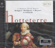 HOTTETERRE COMPLETE WIND MUSIC BRUGGEN KUIJKEN DOPPIO CD SEON