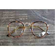 1920s Vintage Oliver Retro petites lunettes rondese 19R62 Tiger Skin Mode Cadres