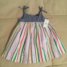 Baby Gap Baby Girl Cotton Summer Dress 0-3 months New With Tags