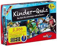 Noris Spiele 606013596 - Kinderquiz ab 6 Jahren Kinderspiel NEU/OVP