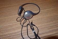 Aiwa Kopfhörer HP MO 46 mit Hinterkopf Bügel Silber. Passt für Minidisc, Walkman