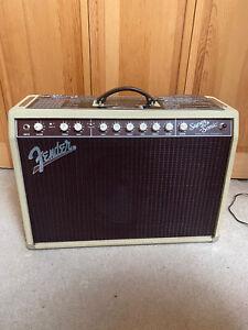 Fender Super Sonic 22 watt with footswitch Blonde