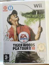 Tiger Woods PGA Tour 10 (Nintendo Wii, 2009) BRAND NEW SEALED
