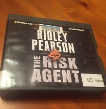 Risk Agent by bestselling author Ridley Pearson, 2013 CD Unabridged Audio Book