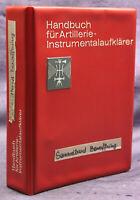 Handbuch für Artillerie-Instrumentalaufklärer um 1930 Sammelband Technik sf