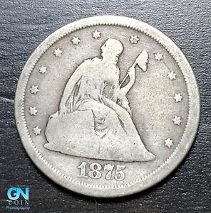 1875 S 20 Cent Piece  --  MAKE US AN OFFER!  #B6925
