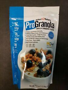 Julian Bakery ProGranola Cereal Gluten-Free Paleo Keto Vanilla Cinnamon 19.5 Oz