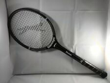 "Slazenger Demon Tennis Racket Wood W/Cover - 4 3/8"" Leather Grip - Model # 1727"