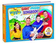 The Wiggles Giant Jigsaw Songbook With Four 48 Piece Puzzles