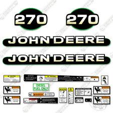 John Deere 270 Skid Steer Decal Kit Equipment Decals