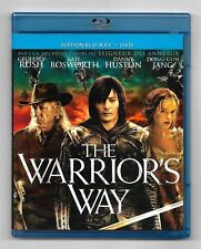 COFFRET BLU-RAY + DVD / THE WARRIOR'S WAY - GEOFFREY RUSH / COMME NEUF
