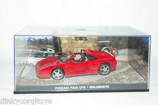 JAMES BOND 007 GOLDENEYE FERRARI F355 F 355 GTS MINT BOXED RARE SELTEN